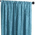 Frills Curtain - Teal