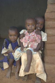 Local pastor's children in Ilambilole, Tanzania.  ©2009 Randy Haglund