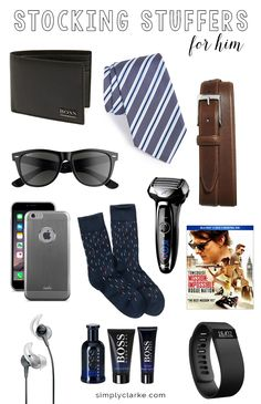 Stocking Stuffers for Him