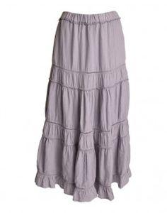 soft maxi skirt