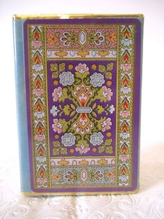Vintage Congress Cards Sealed Deck Purple Persian Floral Carpet General Electric