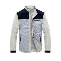 Quilted Suede Top Jacket