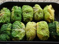 Savoy cabbage roulades spicy - recipe with picture - Recipe: Savory savoy cabbage rolls You are in the right place about recipes Here we offer you the m - Healthy Recipes For Diabetics, Healthy Gluten Free Recipes, Healthy Pasta Recipes, Spicy Recipes, Clean Eating Recipes, Beef Recipes, Vegan Recipes, Cooking Recipes, Chou Kale
