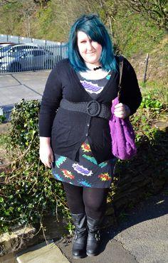 batgirl plus size comic dress