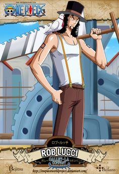 One Piece - Rob Lucci by OnePieceWorldProject.deviantart.com on @deviantART