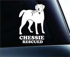 Chesapeake Bay Retriever Rescued Dog Symbol Decal Paw Print Dog Puppy Pet Family Breed Love Car Truck Sticker Window (White) ExpressDecor http://www.amazon.com/dp/B00SHZNBQK/ref=cm_sw_r_pi_dp_cCCWub1NMN0W1