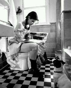 Sandra Bullock on the toilet. Respect your bowels. Doodyfreegirls.com