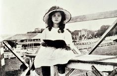 Vivien Leigh, as a child, reading a book
