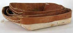 birchbark trays