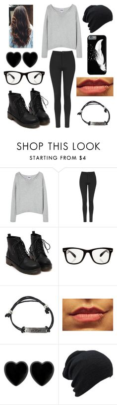 """Dark colors"" by melanietorresco ❤ liked on Polyvore featuring Acne Studios, Topshop, All Day and Dollydagger"