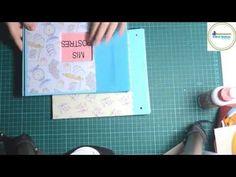 Tutorial Álbum Scrapbooking Fácil - Paso a Paso - YouTube