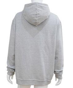 TELFAR - CUSTOMER APPLIQUE HOODIE (GREY) http://www.raddlounge.com/?pid=88327412 #raddlounge #style #stylecheck #fashionblogger #fashion #shopping #wishlist #menswear #clothing #harajuku #TELFAR #telfarclemens