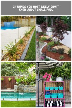 water feature with pool pool Landscaping