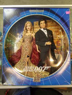James Bond 007 Ken and Barbie Dolls Giftset