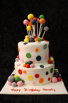 balls cake by The House of Cakes Dubai, via Flickr