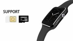 X6 Smartwatch Phone - BLACK  price=2300 tk Tip: This smart watch will only work with GSM networks: GSM850/900/1800/1900MHz Unlocked for Worldwide use. Please ensure local area network is compatible. click here for Network Frequency of your country. Please check with your carrier/provider before purchasing this item. Main Features:  SIM card / Bluetooth phone call (Bluetooth v3.0) / Answer You can dial or answer a phone call from your wrist watch  Messaging Effortlessly send/receive messages…