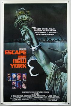 Escape From New York Advance Poster