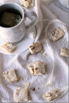 ~ Almond Shortbread    ~Judith's comment: i have been searching our family's Italian wedding recipe cakes cookies looking for this recipe...and here it is, thankfully , on Pinterest !