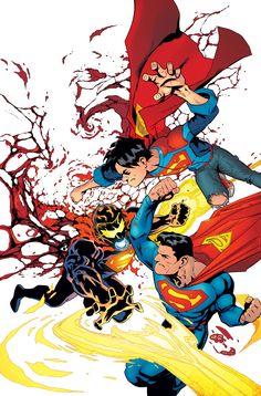 "#Superman #Fan #Art. (DC Universe Rebirth Superman. ""Son of Superman"" Vol.4#4 Cover) By: Patrick Gleason & Mick Gray & John Kalisz. ÅWESOMENESS!!!™ ÅÅÅ+"