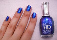 blue nails - oh i want. Beauty Tips For Hair, Beauty Hacks, Hair Beauty, Sally Hansen Nails, Nail Polish Collection, Blue Nails, Mani Pedi, Diy Nails, My Favorite Color