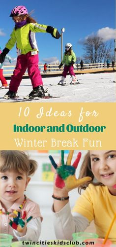 Twin Cities Kids Club Blogs: 10 Ideas for Indoor and Outdoor Winter Break Fun in the Twin Cities! - Wondering how to keep the kids busy this winter break? Here are 10 ideas (plus discounts) for family fun in the Twin Cities! | Outdoor | Winter Break | Fun Activities For 2 Year Olds, Indoor Activities, Infant Activities, Travel With Kids, Family Travel, Indoor Play Places, 3 Year Olds, Children Toys, Twin Cities