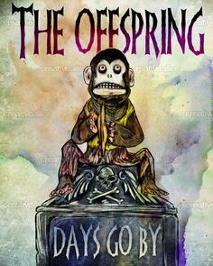 The Offspring Poster by realgone on CreativeAllies.com