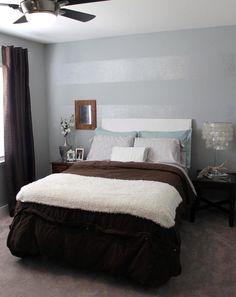 gray tone-on-tone stripes