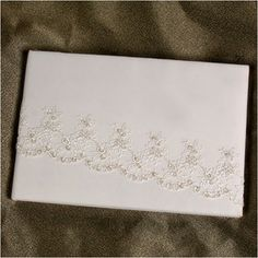 Allure Guest Book - White - All Budget Weddings