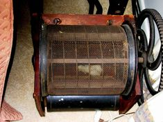 Very rare 10 saw cotton gin made in Bridgewater MA - Jan 2017 Cotton Gin, Ms, Conditioner, Auction, Flooring, Antiques, How To Make, Antiquities, Antique