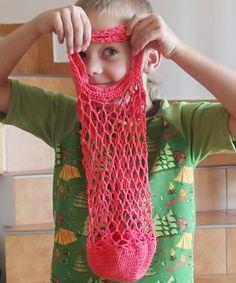 Háčkovaná Síťovka – Jak háčkovat Handicraft, Fingerless Gloves, Arm Warmers, Crochet Necklace, Knitting, Crafts, Crochet Bags, Crocheting, Fashion