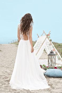 Robe de mariée Christopher - www.fabiennealagama.com #fabiennealagama#collection2017#robedemariee