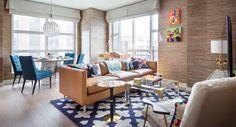 Jonathan Adler Abington House Model Apartments New York, NY.  | Luxury homes, interior design inspiration