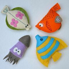 felt fish template - Google Search