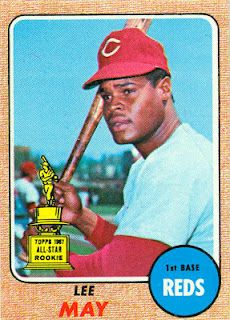 1968 Topps baseball cards