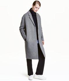 Mantel aus Kaschmirmischung | Grau | Damen | H&M DE