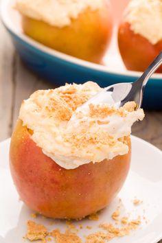 Cheesecake Stuffed Apples  - Delish.com