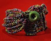 braccialetto MOMO multicolore in cotone con bottone : Braccialetti di love-affairs