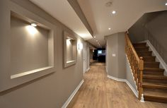 Safe and Pretty Basement Stairs for Your Home