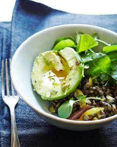 Lentil-Avocado Salad with Dates and Preserved Lemon — Kitchen Repertoire