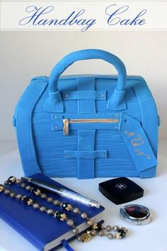 A Step by Step Guide To Make Your Own Designer Handbag Cake!