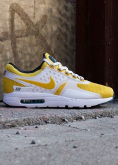 5cad3b7f37 Nike Air Max Zero: Vivid Sulphur Best Sneakers, Sneakers Fashion, Casual  Sneakers,