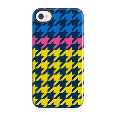 Houndstooth iPhone 4/4S Case Ylw now featured on Fab.