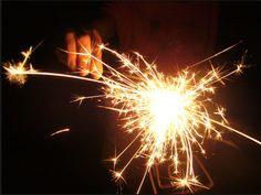 fun time -sparkler