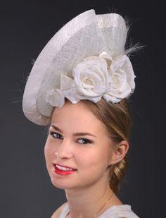 Wedding hat by Marge Iilane  #millinery #HatAcademy