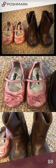 New Gold Urban Glitter Rhinestone Knee Toddler cute Boot Size 9 C