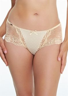 1296 Champagne Low-rise Short Panty By Royce Lingerie c205beb13
