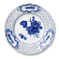 Blue Flower Curved - Plate by Royal Copenhagen