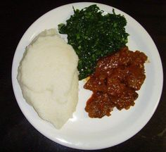 Seriously miss this so much! Zimbabwean food - kelly hammond - Seriously miss this so much! Zimbabwean food Seriously miss this so much! Zimbabwe Food, Zimbabwe Recipes, Savoury Dishes, Food Dishes, Zambian Food, Nigerian Food, Home Food, International Recipes, Great Recipes