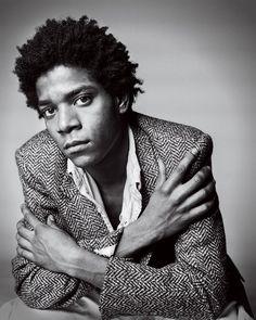 Jean-Michel Basquiat - Herringbone Tweed Jacket - GQ -