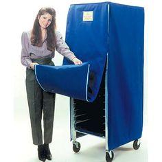 $394.18 - Curtron - Insulated Rack Cover For Bun Pan Rack - SUPRO-IC-BL - Bun Pan Racks - ZESCO.com